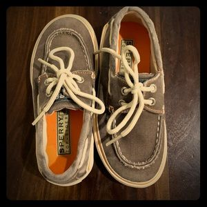 Boys Sperry Boat shoes - size 10